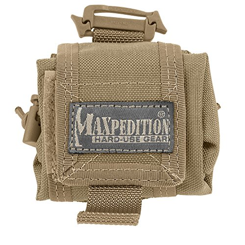 Maxpedition Mini Rollypoly Folding Dump Pouch (Khaki)