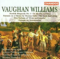 R. Vaughan Williams: Norfolk Rhapsody / In the Fen Country / Five Variants of Dives and lazarus / Fantasia on Greensleeves / The Lark Ascending (1999-11-30)