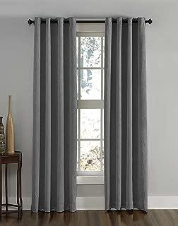 Curtainworks Lenox Grommet Curtain Panel, 50 by 132