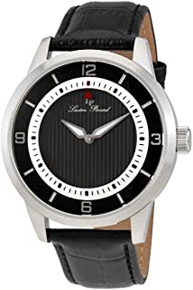 Lucien Piccard Men's LP-15024-01 Grotto Analog Display Quartz Black Watch