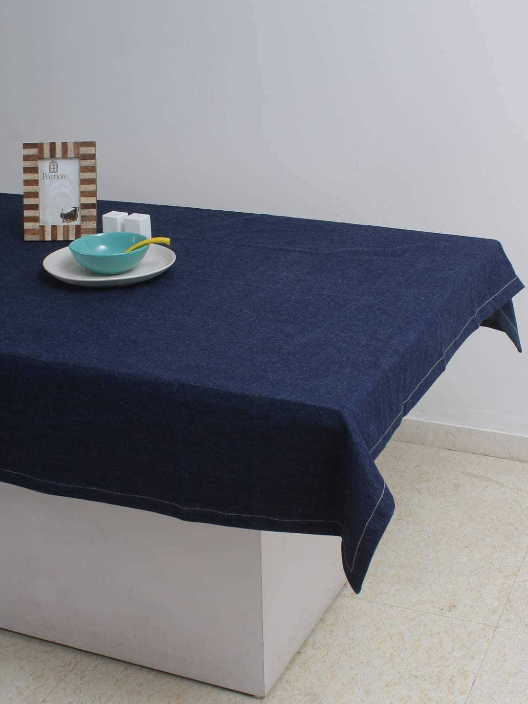 AZ New life COLLECTION Tablecloth Denim Blue Summer Special Campaign Used Spring for