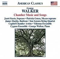 ウォーカー:室内楽作品と歌曲集