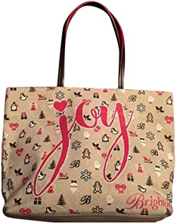 Brighton Joy Christmas Holiday Tote Bag