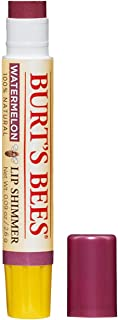 Burt's Bees 100% Natural Moisturizing Lip Shimmer, Watermelon - 1 Tube