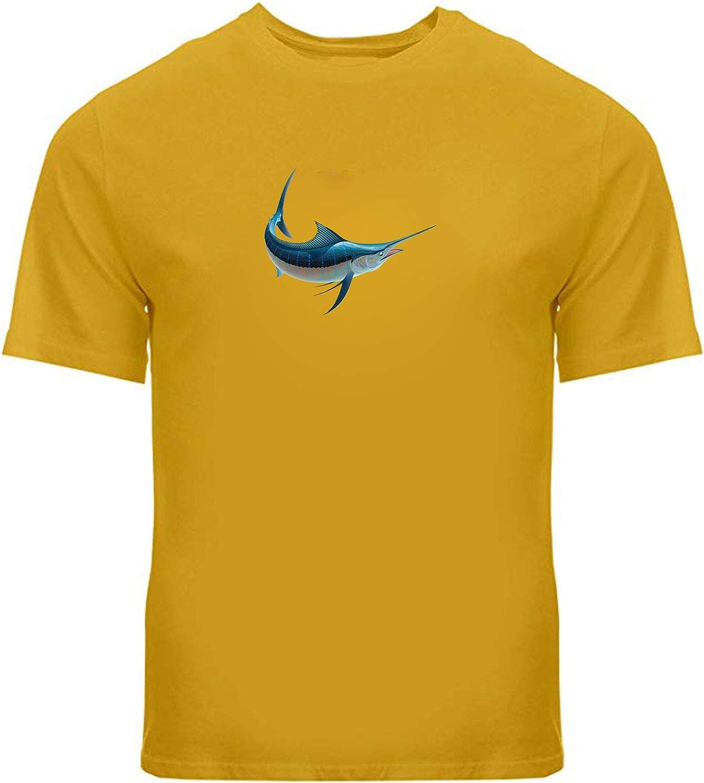Swordfish Adult Unisex Tee T-Shirts Fi Shirts Printed Gift Credence Fresno Mall Sword