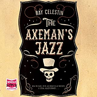 The Axeman's Jazz audiobook cover art