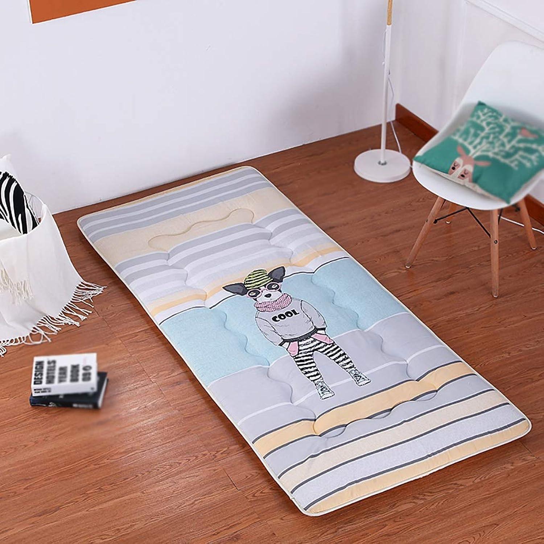 Student Dorm Mattress Breathable Tatami Floor Mat Double Futon Mattress Portable Sleeping Pad Non-Slip Foldable Mattress (color   B, Size   1.8X2M Bed)
