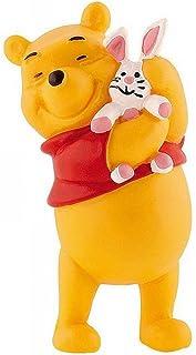 Winnie l´ourson figurine Winnie avec lapin peluche 6 cm - Bullyland - Disney