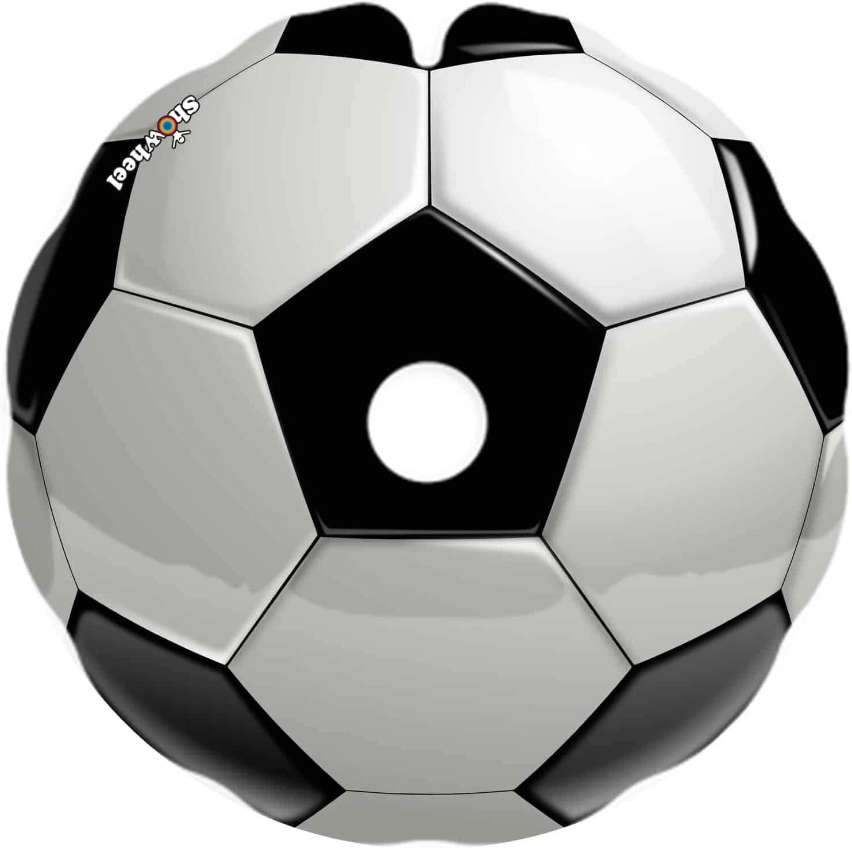 Cubre Radios Silla de Ruedas (Par) para Aro Impulsor 49,51 a 50,50cm de Diámetro Exterior con Fijaciones Redondas - Ballon foot