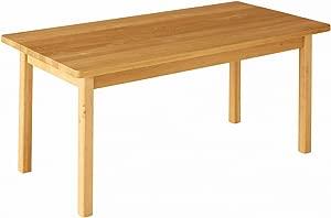 BioKinder 23927 Robin kindergarden table rectangular 120x70 height