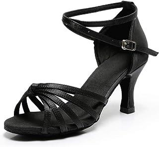 f24c728f2bd Amazon.es: lazo negro - 38 / Zapatos para mujer / Zapatos: Zapatos y ...