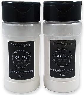 RCMA No Color Powder 3 oz Shaker Top Bottle (2 Pack)