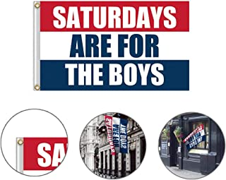 saturdays are for the boys flag old row