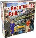 Asmodee-Les Aventuriers du Rail : New York, AVE23, Jeu Famille