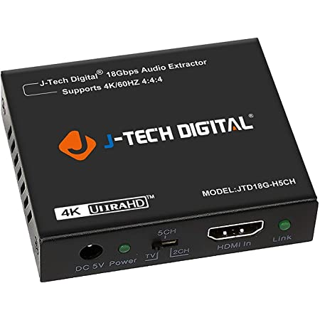 HDCP 2.2 3.5mm Output Dolby Digital//DTS Passthrough CEC HDA-925 HDR10 Support Orei 4K 60Hz 18G HDMI 2.0 Audio Converter Extractor ARC Support SPDIF Dolby Vision HDR