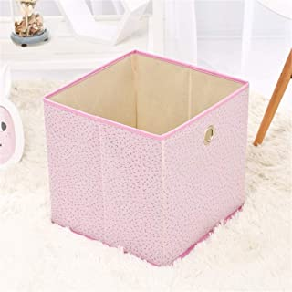 Kids Storage Organiser for Nursery Playroom Foldable Pop Room Tidy Storage Chest Toy Box For Girls And Boys Perfect For Household Storage  Fabrics Toys Color Pink Size Free size