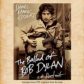 The Ballad of Bob Dylan audiobook cover art