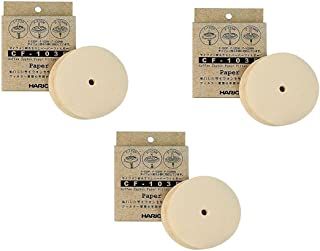 Hario 3x Paper Filter for Hario Siphon Exposed Only Cf-103e(300 Sheets)from Japan