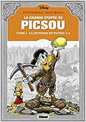livre La BD la grande épopée de Picsou, Tome 1 : La jeunesse de Picsou