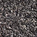 21 kg Steinteppich-Boden, Marmor 2-4mm + 1K Bindemittel lichtbeständig, im Mischeimer (Grigio Carbone)