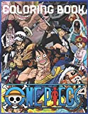 One Piece Coloring Book: One Piece Anime Coloring Book One Piece Adult Coloring Book Anime One Piece Coloring Book for Kids One piece coloring booklet with a large size, including many drawings, one piece coloring book for hat crew