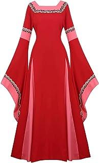 Renaissance Costume Women Medieval Dress Irish Over Victorian Vintage Halloween