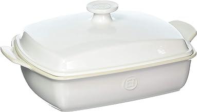 Emile Henry Covered Rectangular Baker, Flour