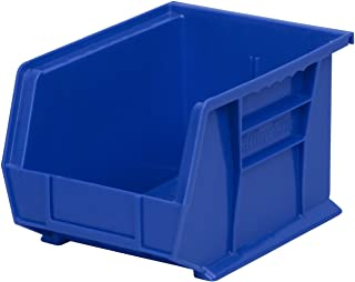 $41 » Akro-Mils 30239 Plastic Storage Stacking Hanging Akro Bin, 11-Inch by 8-Inch by 7-Inch, Blue, Case of 6 (Renewed)