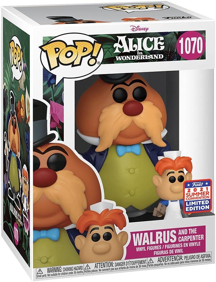 Funko Alice in Wonderland Walrus and The Carpenter Pop Vinyl Figure and...