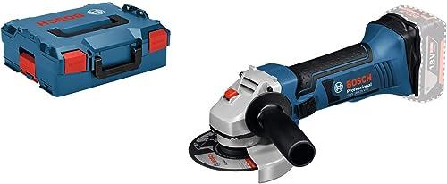 Bosch Professional 060193A308 Meuleuse Angulaire Sans Fil GWS 18-125 V-LI Solo (18 V, Ø de Meule : 125 mm, sans Batterie L-Boxx) Bleu product image