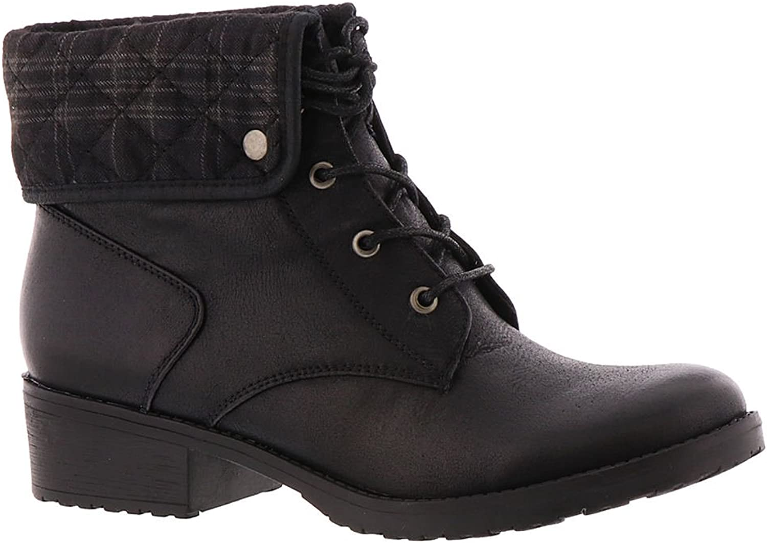 Bare Traps Womens Oswald Almond Toe Ankle Fashion Boots