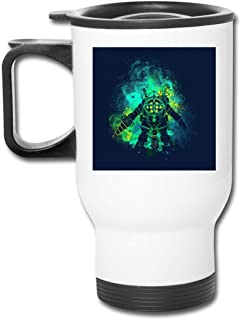 Rapture Art Big Daddy Little Sister Bio Shock 16 Oz Stainless Tumbler Double Wall Vacuum Coffee Mug With Splash Proof Lid For Hot & Cold Drinks
