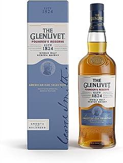 "The Glenlivet Founder""s Reserve Single Malt Scotch Whisky – Scotch Single Malt Whisky aus der Speyside Region – 1 x 0,7 L"
