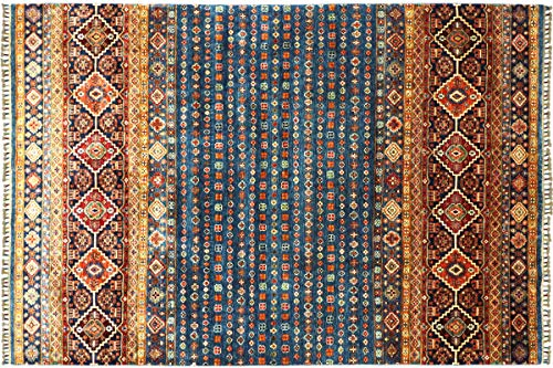 Teppichprinz Alfombra oriental Afgan, Ziegler, Khorjin Bakhtiar, 301 x 206 cm