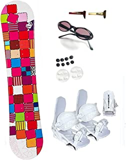 SiOnyx 140cm Quilt Women's Girl's Snowboard+Symbolic Bindings+Shades+Burton Decal Package