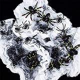 Neusky 160 Stücke Pflastik-Tierchen, Spinnen, Maden und Fliegen für Halloween, Karneval, Fastnacht, Fasching oder Thema Festival, Party und Dekoration (Halloween, 160Stück) - 7