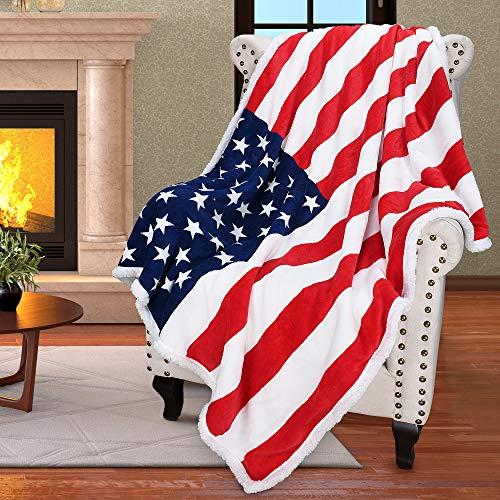 Patriotic Reversible Blanket