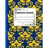 Composition Notebook: Perfect Floral Composition Notebook ,Gift It To Cute Girl ,Men And Woman,Floral Wide Ruled Composition Notebook For Floral Lovers Birthday Gift.Vol-43