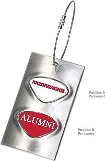 NCAA Arkansas Razorbacks Collegiate Luggage TagCollegiate Luggage Tag, Silver, One Size