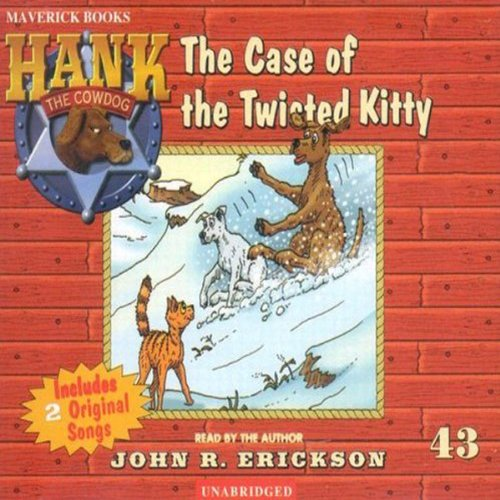 The Case of the Twisted Kitty audiobook cover art