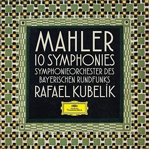 Rafael Kubelik - Mahler 10 Symphonies [10CD+Bru-ray Audio]