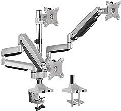 "AVLT Triple 13""-32"" Monitor Arm Desk Mount fits Three Flat/Curved Monitor Full.."