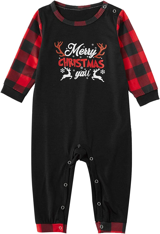 URIBAKE Matching Family Pajamas Sets Letter Christmas Merry Prin Max 87% OFF Fashion