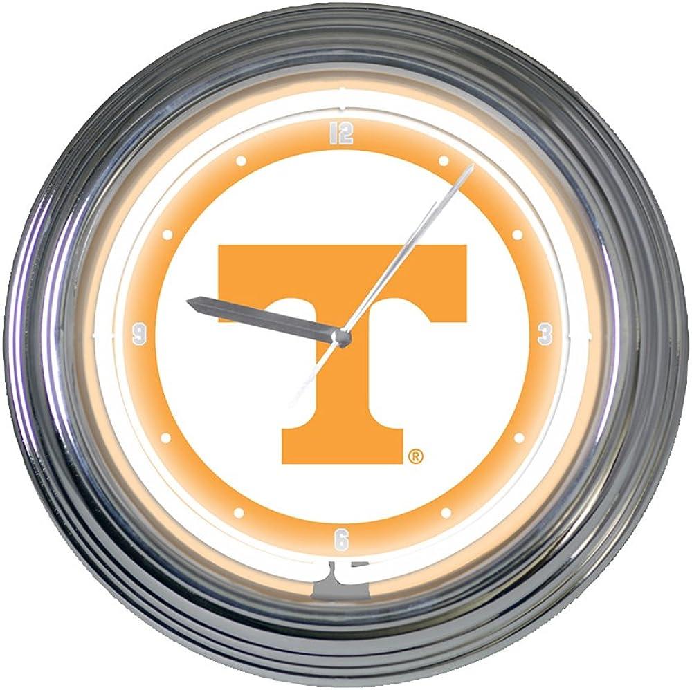The Memory Company NCAA Unisex-Adult 15 inch Neon Clock