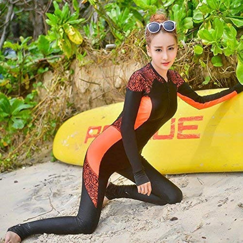 ZHRUI Einteiliger Einteiliger Einteiliger Badeanzug Large Yards Badeanzug Video Thin Sicherheits-Badeanzug, fluoreszierend Orange-rot, (Farbe   Wie Gezeigt, Größe   Einheitsgröße) B07MHZMP4Q  Schöne Farbe 650acc