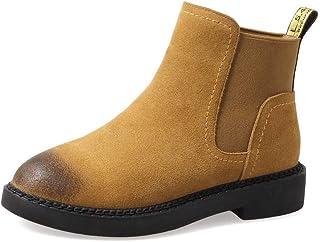 BalaMasa Womens Nubuck Warm Lining Solid Urethane Boots ABM13574