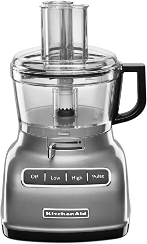 wholesale KitchenAid KFP0722WH 7-Cup Food Processor with Exact Slice System - popular popular White (Renewed) online sale