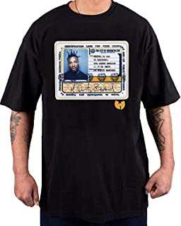8c50fb79dfbb7 Fanduanxiu ODB Stamp Tee Black T Shirt T-Shirt Wu-Tang Clan