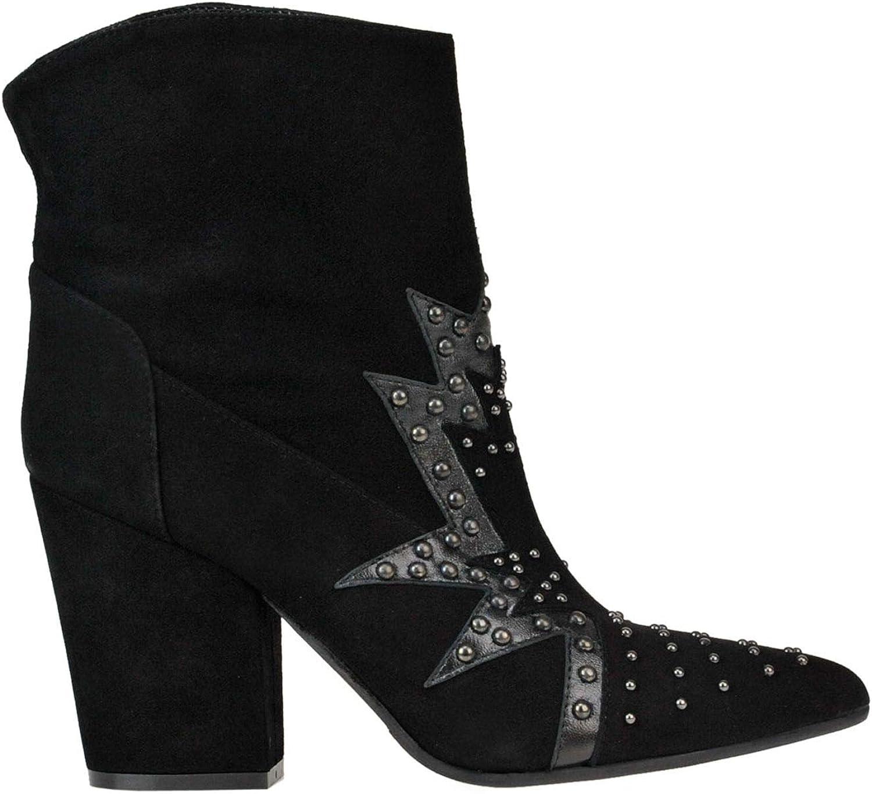DOR DOR DOR Kvinnliga MCGLCASS0005014E Svarta skor av mocka Ankle  bästa rykte