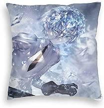 AMY Anime Houseki No Kuni Goshenite Velvet Pillowcase Decorative Throw Pillow Covers for Sofa Couch Cushion Pillow Cases Multi-Code
